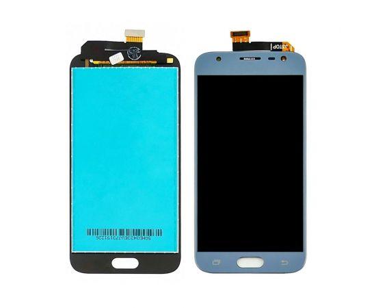 Дисплей для Samsung J330 Galaxy J3 (2017) с голубым тачскрином, с регулируемой подсветкой
