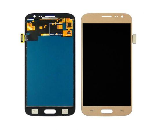 Дисплей для Samsung J210 Galaxy J2 (2016) с золотистым тачскрином, с регулируемой подсветкой