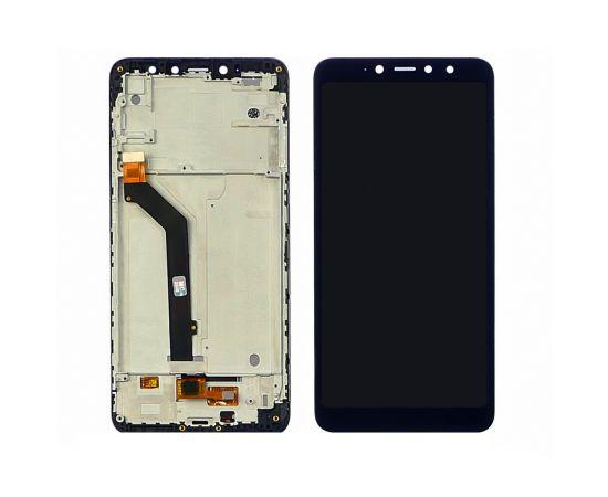 Дисплей для Xiaomi Redmi S2 с чёрным тачскрином и корпусной рамкой