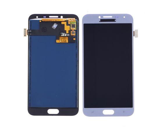Дисплей для Samsung J400 Galaxy J4 (2018) с голубым тачскрином, с регулируемой подсветкой