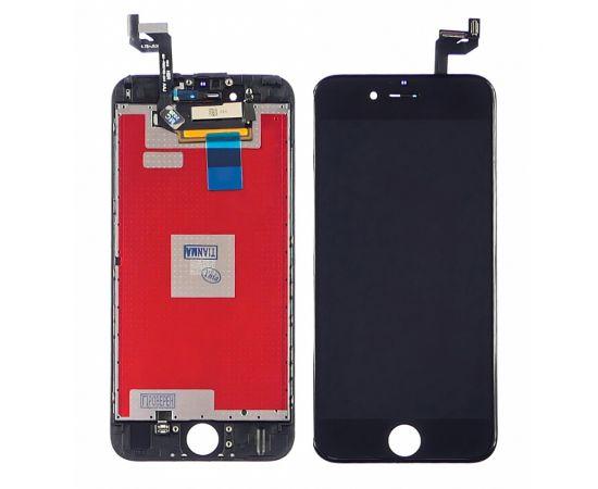 Дисплей для Apple iPhone 6s с чёрным тачскрином Tianma