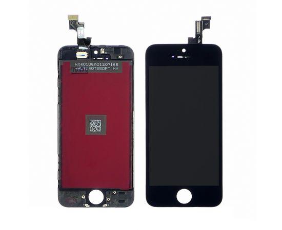 Дисплей для Apple iPhone 5S с чёрным тачскрином Tianma