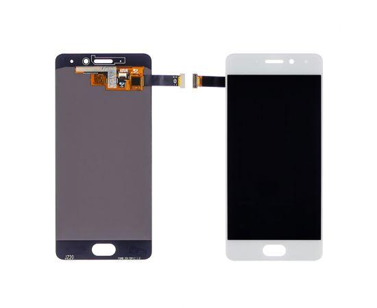 Дисплей для Meizu Pro 7 с белым тачскрином OLED