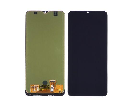 Дисплей для Samsung A205 Galaxy A20 (2019) с чёрным тачскрином, с регулируемой подсветкой IPS