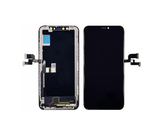 Дисплей для Apple iPhone X с чёрным тачскрином ZY-IN CELL