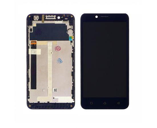 Дисплей для Lenovo A2020 Vibe C с чёрным тачскрином и корпусной рамкой