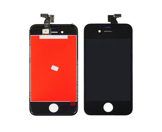 Дисплей для Apple iPhone 4 с чёрным тачскрином HC