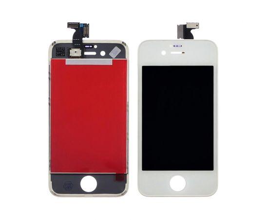 Дисплей для Apple iPhone 4s с белым тачскрином HC