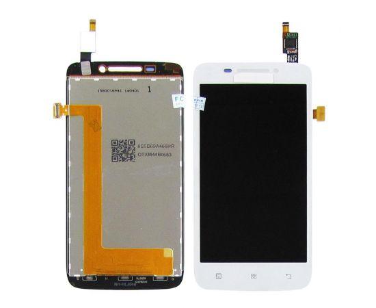 Дисплей для Lenovo S650 с белым тачскрином