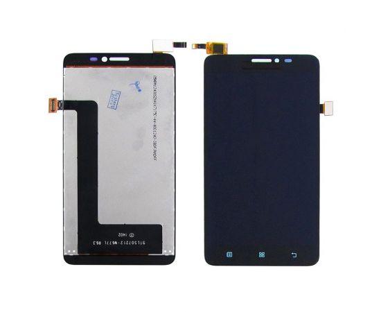 Дисплей для Lenovo S850 с чёрным тачскрином