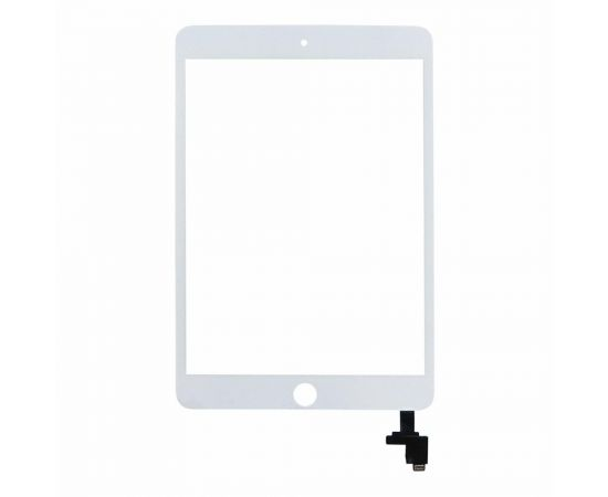 Тачскрин для Apple iPad mini 3 белый с микросхемой