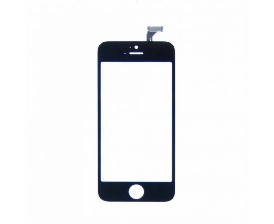 Тачскрин для Apple iPhone 5 чёрный с дисплейной рамкой
