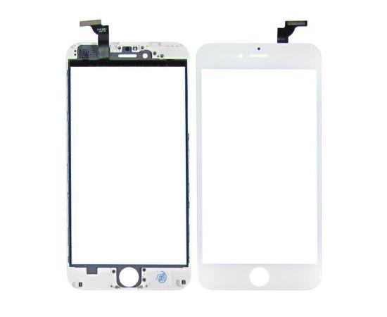 Тачскрин для Apple iPhone 6 Plus белый с дисплейной рамкой