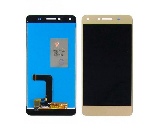Дисплей для Huawei Y5 II с золотистым тачскрином