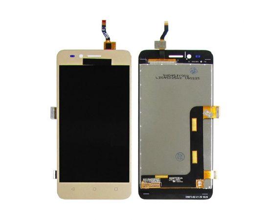 Дисплей для Huawei Y3 II (3G) с золотистым тачскрином