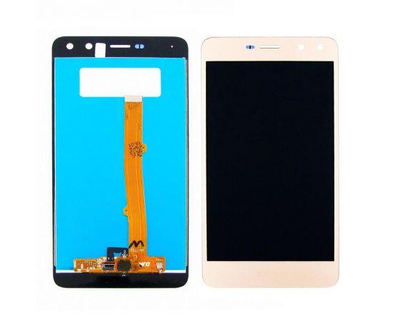 Дисплей для Huawei Y5 (2017) (MYA-U29) с золотистым тачскрином