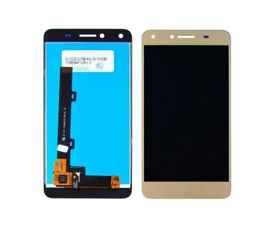 Дисплей для Huawei Y6 Pro (2015) с золотистым тачскрином