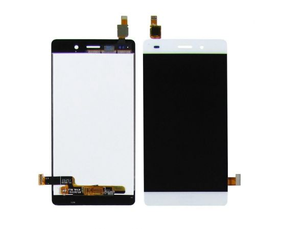 Дисплей для Huawei P8 Lite (2015) ( ALE L21) с белым тачскрином
