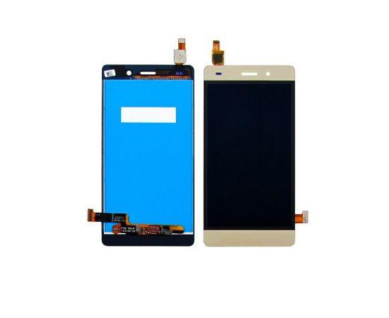 Дисплей для Huawei P8 Lite (2015) ( ALE L21) с золотистым тачскрином