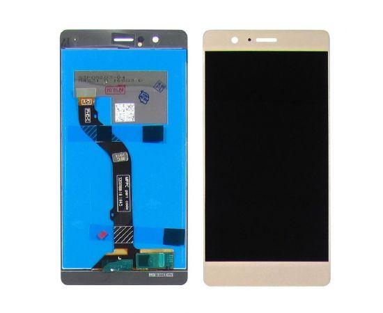 Дисплей для Huawei P9 Lite (2016) с золотистым тачскрином