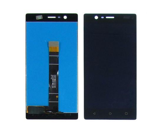 Дисплей для Nokia 3 с чёрным тачскрином
