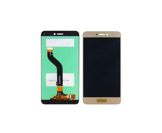 Дисплей для Huawei P9 Lite (2017)/GR3 (2017)/Honor 8 Lite/Nova Lite (2016)/P8 Lite (2017) с золотистым тачскрином