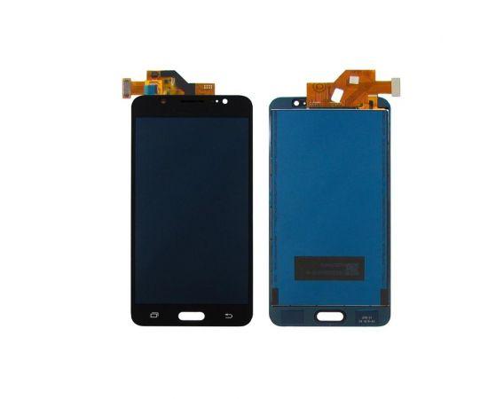 Дисплей для Samsung J510 Galaxy J5 (2016) с чёрным тачскрином, с регулируемой подсветкой