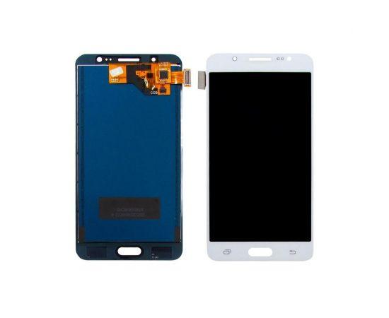 Дисплей для Samsung J510 Galaxy J5 (2016) с белым тачскрином, с регулируемой подсветкой