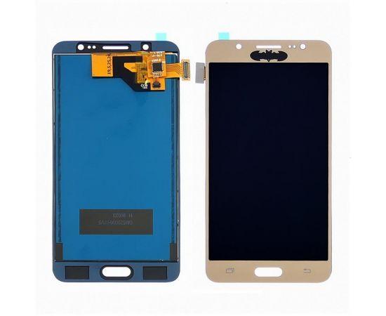 Дисплей для Samsung J510 Galaxy J5 (2016) с золотистым тачскрином, с регулируемой подсветкой