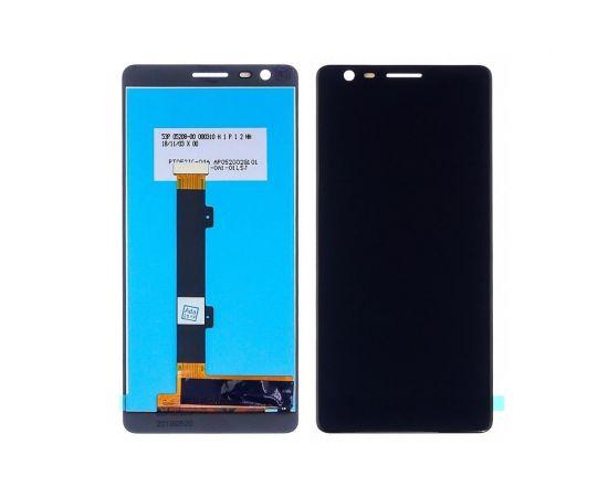 Дисплей для Nokia 3.1 Dual Sim с чёрным тачскрином