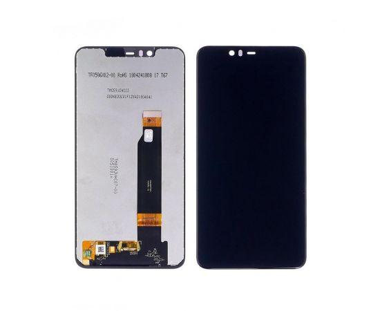 Дисплей для Nokia 5.1 Plus с чёрным тачскрином