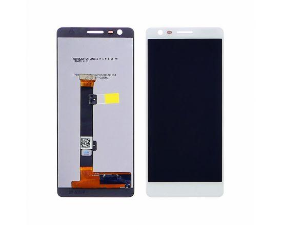 Дисплей для Nokia 3.1 Dual Sim с белым тачскрином