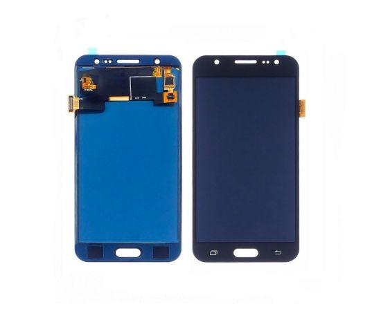 Дисплей для Samsung J500 Galaxy J5 с чёрным тачскрином, с регулируемой подсветкой БЕЗ ЛОГОТИПА