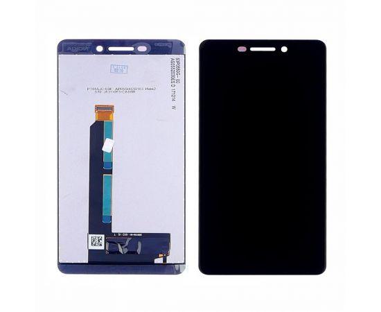 Дисплей для Nokia 6.1 Dual SIM с чёрным тачскрином
