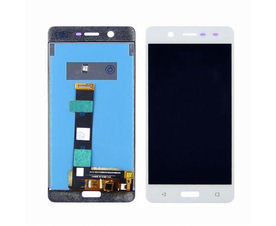 Дисплей для Nokia 5 с белым тачскрином
