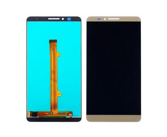 Дисплей для Huawei Mate 7 с золотистым тачскрином