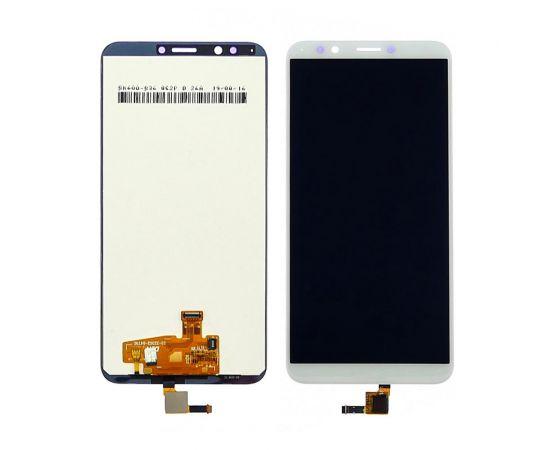 Дисплей для Huawei Y7 2018/ Nova 2 Lite с белым тачскрином