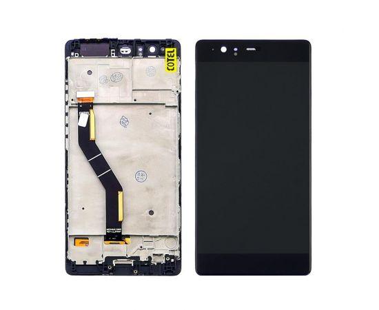 Дисплей для Huawei P9 Plus с чёрным тачскрином и корпусной рамкой