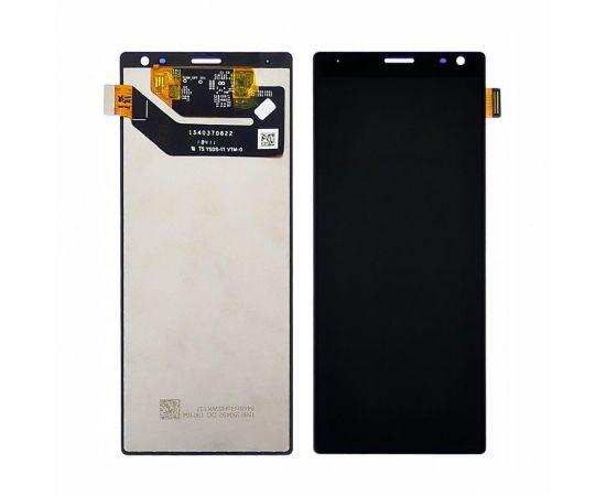 Дисплей для Sony I4213 Xperia 10 Plus с чёрным тачскрином
