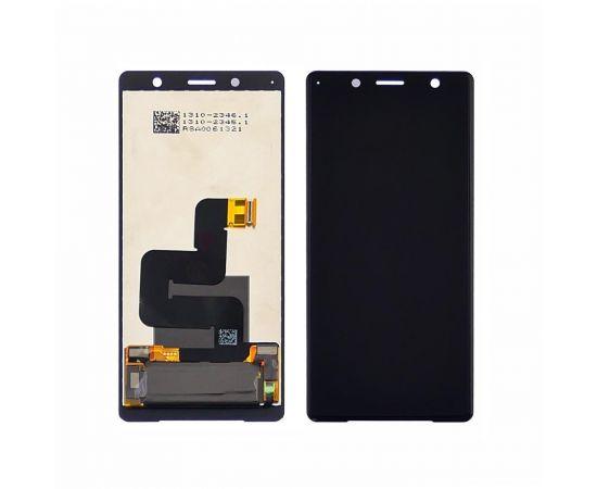 Дисплей для Sony H8324 Xperia XZ 2 Compact с чёрным тачскрином