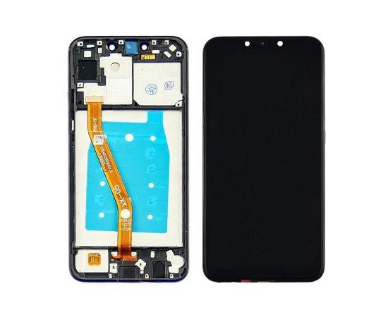 Дисплей для Huawei P Smart Plus (2018) с чёрным тачскрином и корпусной рамкой