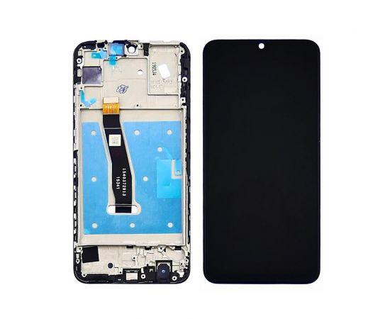 Дисплей для Huawei P Smart (2019)/P Smart Plus (2019) с чёрным тачскрином и корпусной рамкой
