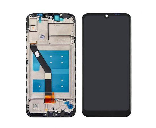 Дисплей для Huawei Y6 (2019) с чёрным тачскрином и корпусной рамкой