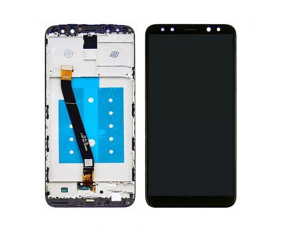 Дисплей для Huawei Mate 10 Lite с чёрным тачскрином и корпусной рамкой