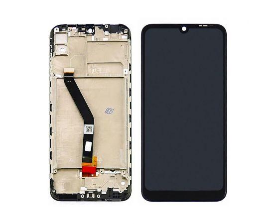 Дисплей для Huawei Y6 Pro (2019) с чёрным тачскрином и корпусной рамкой