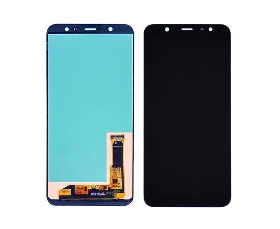 Дисплей для Samsung J805 Galaxy J8 Plus (2018) с чёрным тачскрином, с регулируемой подсветкой