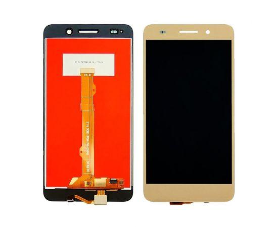 Дисплей для Huawei Y6 II с золотистым тачскрином