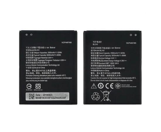 Аккумулятор BL243 для Lenovo A7000/ A7600/ K3 Note/ A5600/ A5860 AAAA