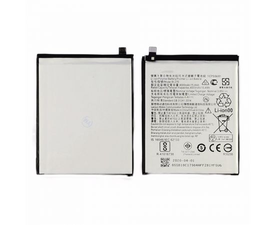 Аккумулятор BL270 для Lenovo K6 Note (K53a48)/ K6 Plus AAAA