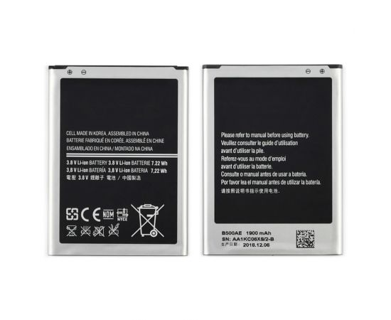 Аккумулятор B500AE для Samsung i9190 S4 Mini/ i9191/ i9192/ i9195 AAAA